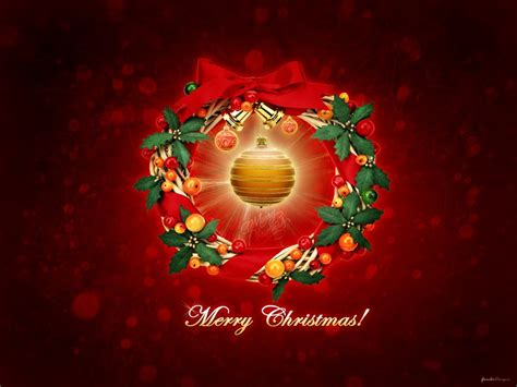 merry bright christmas wallpapers hd wallpapers id