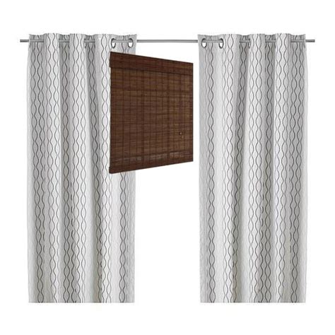 roman curtains ikea henry rand curtain panels from ikea in gray and brown no