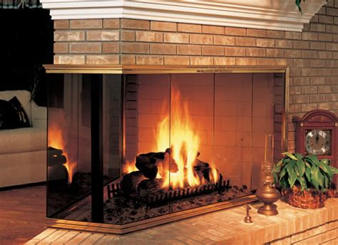 Multi Sided Fireplace by Buy Fireplace Doors Corner Multi Sided Fireplaces