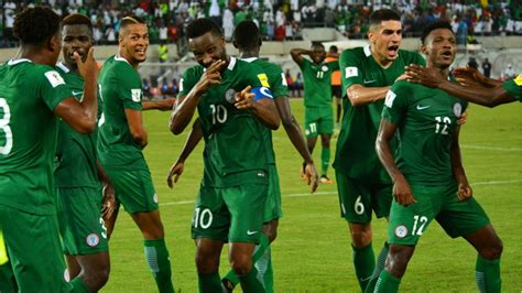 nigeria makes the cut for the 2018 fifa world cup