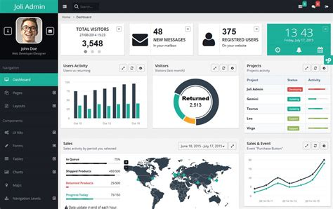 templates for hrms website free bootstrap admin themes david carr web developer blog