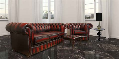 chesterfield furniture measurements designersofas4u red chesterfield leather oxblood sofa 3 club footstool jpg
