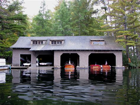 lake house boat file boathouse at c wild air upper st regis lake ny