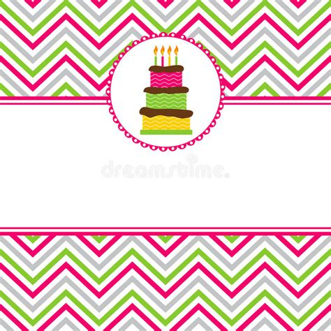 happy birthday card template ilustrator happy birthday card stock vector illustration of card