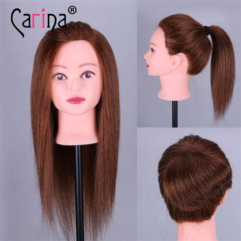Real Hair Mannequin Heads by 100 Real Hair Mannequin 18 Quot Humen