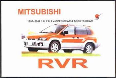 how to download repair manuals 1992 mitsubishi rvr free book repair manuals mitsubishi rvr 1997 2002 owners manual engine model 4g63 4g64 4g93 1869760948 9781869760946