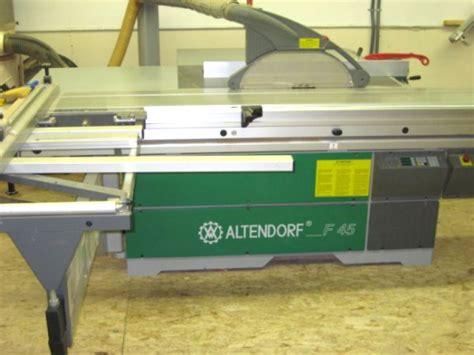 altendorf  series sliding table   machinery