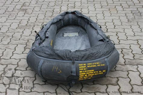 LIFE RAFT,INFLATABLE   us army military shop
