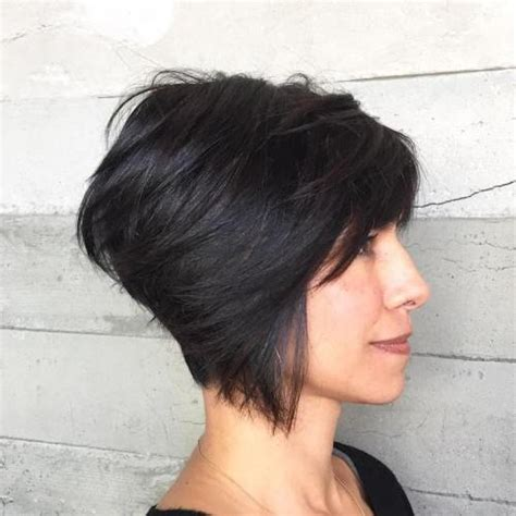 pixie cut with swing bob in front 60 gorgeous long pixie hairstyles