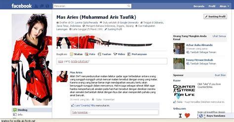 membuat sul facebook keren cara membuat profil fb keren dengan photoshop foto profil