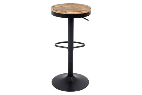 Dakota Adjustable Height Swivel Stool by Dakota Height Adjustable Barstool With Swivel In Black By