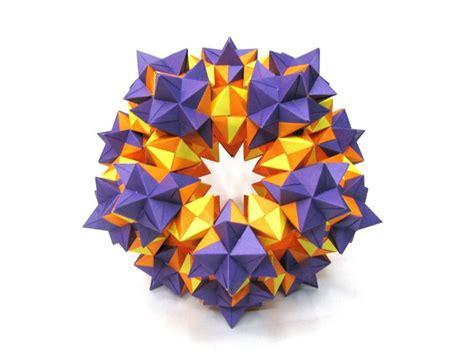 Modular Geometric Origami - oltre 25 fantastiche idee su palla di origami su