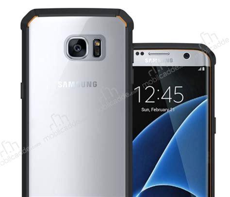 Softcase Rubber Samsung S7 Edge Silikon Samsung S7 Edge eiroo slim hybrid samsung galaxy s7 edge silikon kenarl莖 蝙effaf rubber k莖l莖f