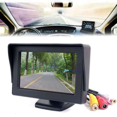 The In Shops See Your Rear On Screen Now by 4 3 Quot Tft Lcd Color Screen Car Rear View Monitor Dvd Gps