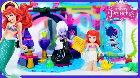 Lego Sy 948 Ariel And The Magical Spell Lego Disney Princess Ariel disney princess ariel and the magical spell lego build review silly play toys