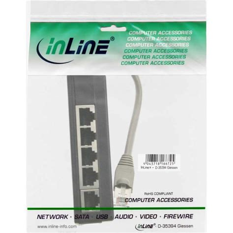 rj45 end of line resistor inline 174 isdn splitter 5x rj45 15cm cable with terminal resistors isdn splitter tae