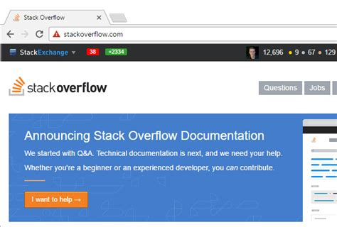 html tutorial stack overflow privileges talk in chat stack overflow