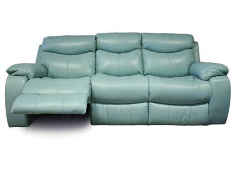 s furniture delaney aqua power reclining sofa