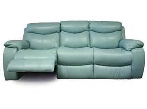 teal recliner kane s furniture delaney aqua power reclining sofa