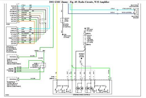 gmc jimmy diamond edition wiring diagram   premium bose radio