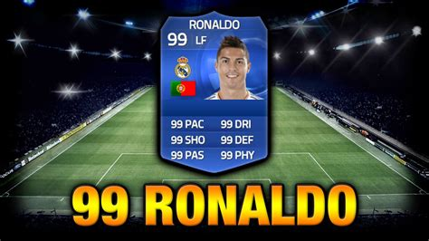 how to get ronaldos hair fifa 15 fifa 15 the real 99 rated ronaldo toty youtube