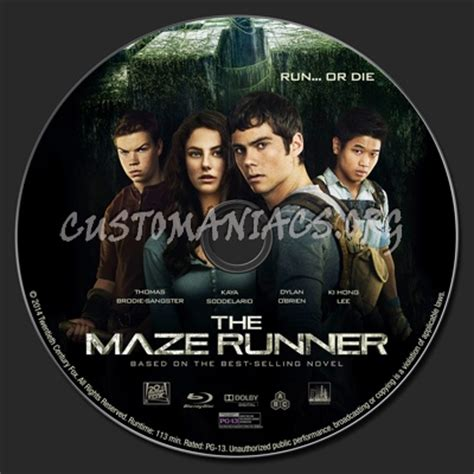 download film maze runner blu ray the maze runner blu ray label dvd covers labels by