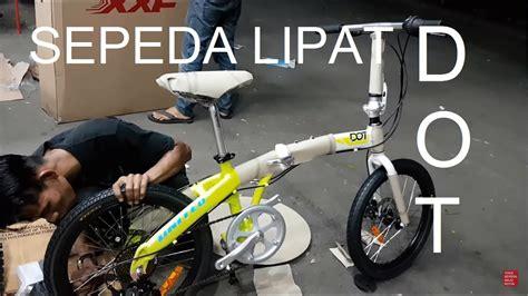 Sepeda Lipat 20 United Dot sepeda lipat united dot 20 inch alloy disc brake