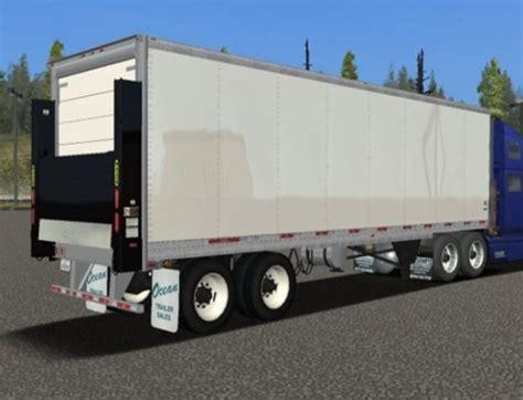 18 wos haulin mods trailer utility reefer trailer pack 18 wos haulin mods trailers 18