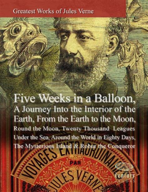 libro islander a journey around greatest works of jules verne five weeks in a balloon a journey into the interior of the earth