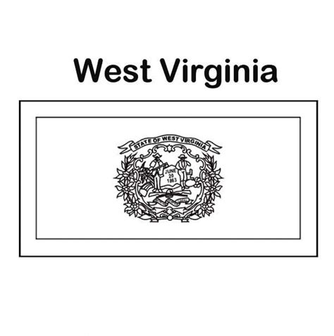 virginia state colors west virginia coloring west virginia coloring