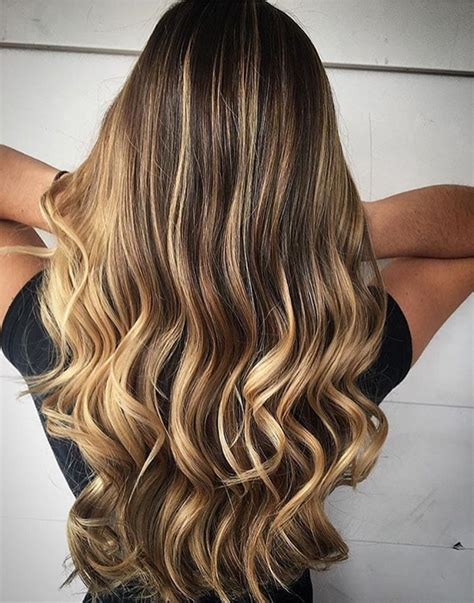 long hair trends curly amp colored hairstyles 2017 daily