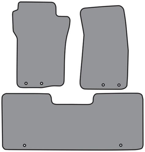 Sport Trac Floor Mats by 2001 2005 Ford Explorer Sport Trac 2pc Fronts 1pc Rear