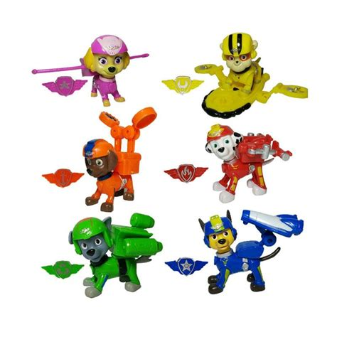 Mainan Anak Paw Patrol Figure Isi 6 Pcs 1 jual paw patrol figure 6 pcs harga kualitas terjamin blibli
