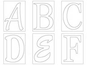 Template Of Alphabet Letters by Letter Template Elementary Letter