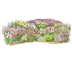 Rock Garden Plan Rock Garden Ideas On Pinterest Rocks Garden Ideas And Rock Garden Design