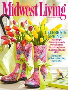 march april  midwest living midwest living
