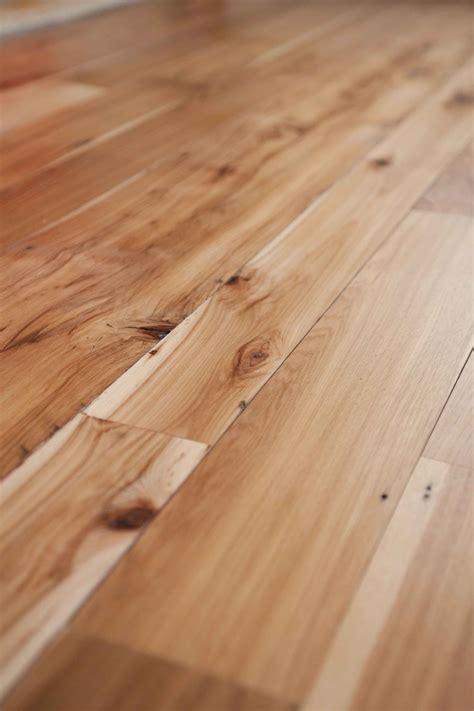 Hickory Wood Floors by Longleaf Lumber Reclaimed Hickory Wood Flooring