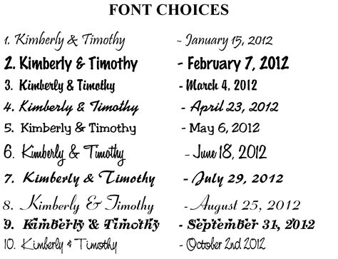 Wedding Clip Font by Wedding Clipart Fonts Clipartxtras