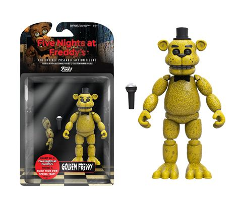 5 nights at freddy s toys five nights at freddy s golden freddy figure for
