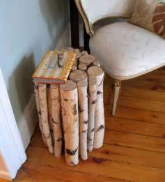 Wood Home Decor Ideas by Logs Furniture And Decorative Accessories 16 Diy Home