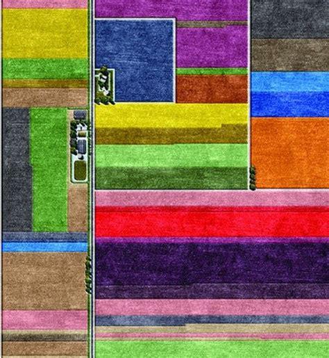 Handmade Rugs Uk - exuberantly colourful topography inspired handmade rugs