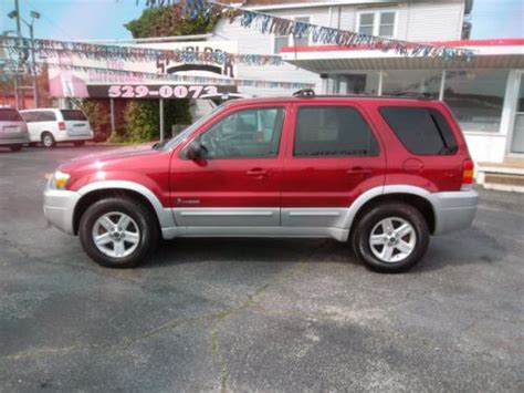 2006 ford escape hybrid sell used 2006 ford escape hybrid base in 351 fourth