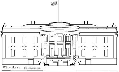 printable white house pictures the white house coloring coloring page