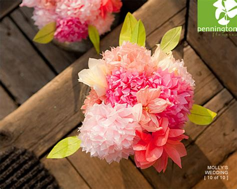 Decorating With Tissue Paper Flowers by Tissue Paper Flowers Wedding Decorations