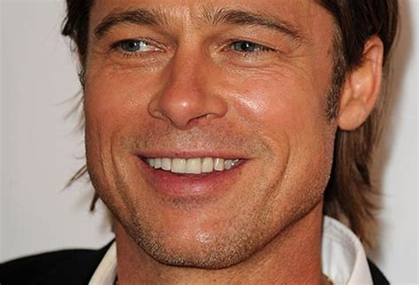 Brad Pitt And Turn Their Noses Up To The Oscars by Slideshow Recognize This Smile