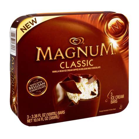 Magnum Milk Chocolate Bar 25g magnum bars classic vanilla w belgian milk
