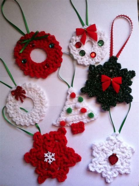 30 wonderful diy crochet christmas ornaments crochet