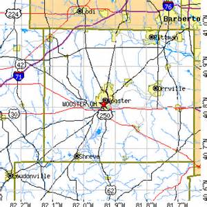 Wooster Ohio Map by Wooster Ohio Oh Population Data Races Housing Amp Economy