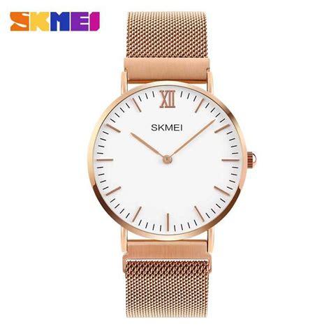 Lucciano Jam Tangan Wanita Gold jual jam tangan wanita skmei casual stainless
