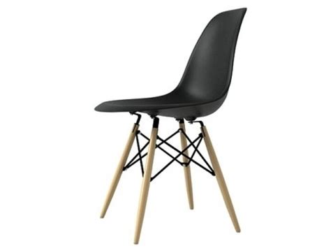 Eames Plastic Chair DSW 3d model   Vitra
